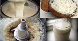 Manteiga de coco