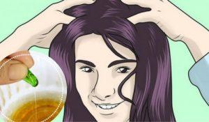 Saudável do cabelo