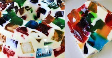 Mosaico de Gelatina - Hoje vamos aprender a preparar essa deliciosa Mosaico de gelatina,que é top e tenho certeza que vai agradar todos